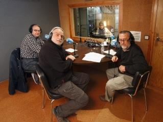 Maurici Carrió, Joan Borràs i Enric Huguet